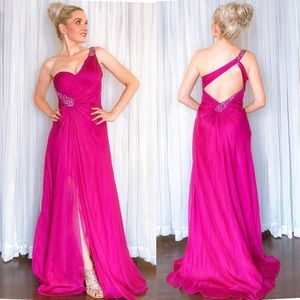 La Femme Homecoming Pageant Prom Dress